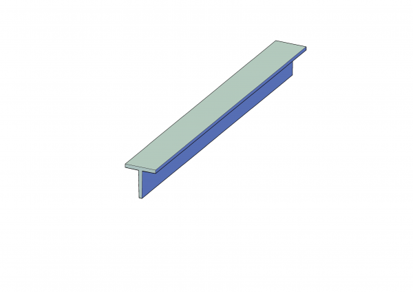T-Bar Lintel - T Section