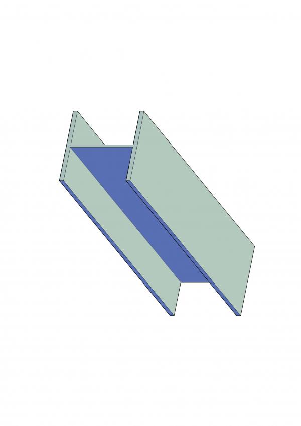 Universal Column - Steel Retaining Wall Uprights - 100UC14.8 - Steel Retaining Wall Uprights - 150UC23