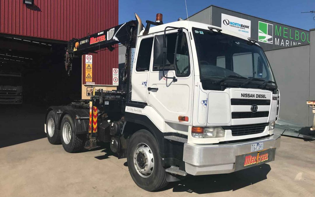 Nissan UD 2004 prime mover for sale