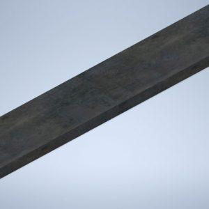 Flat Bar Steel Primed Size 130x16 Length 6m Melsteel
