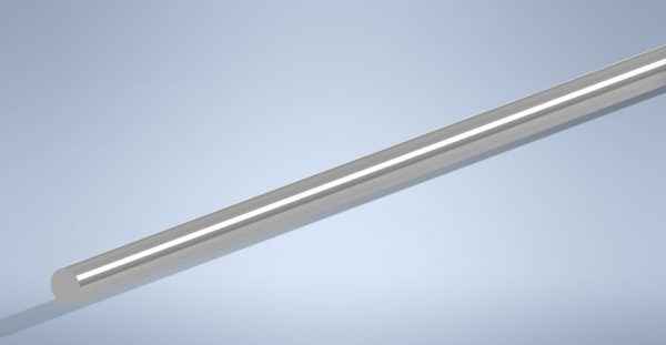 Semi Bright Bar - Steel - Round
