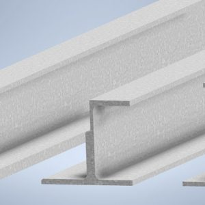 Shelf Beams - Structural Steel - Primed