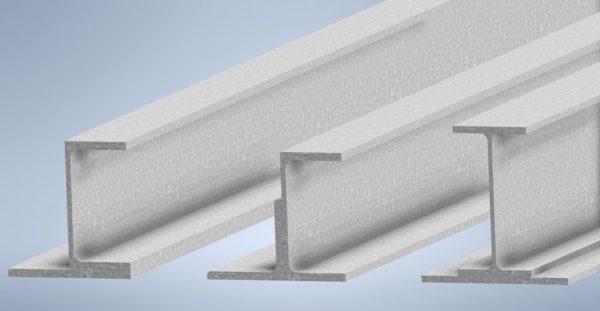 Shelf Beams - Structural Steel - Primed