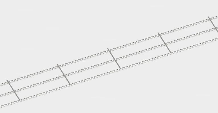Trench Mesh – Concrete – Reinforcing, Size L12TM300 – Area(m) 6X0.3